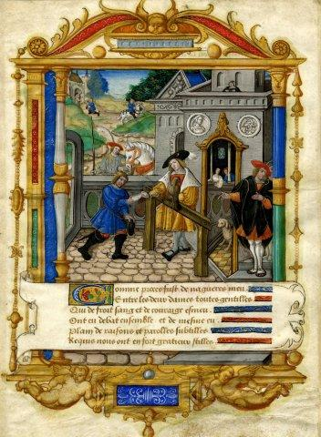 French Pictorial Art in 1500