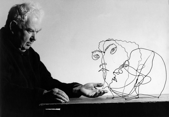 Calder at the National Portrait Gallery