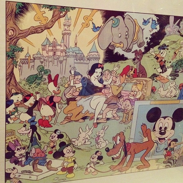 Wally Wood. Disneyland Memorial Orgy (1967).