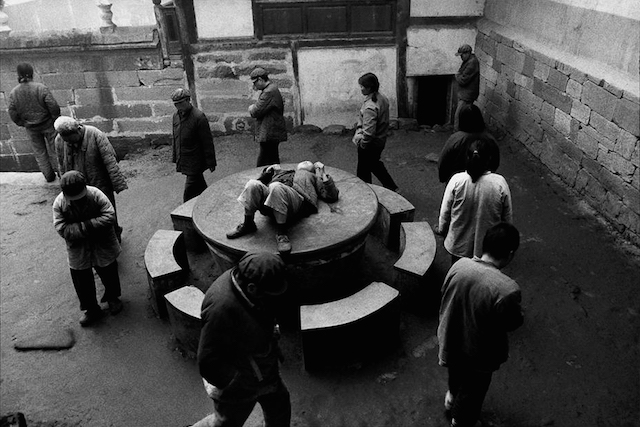 Lu Nan. Mental Hospital, Sichuan, China (1990).