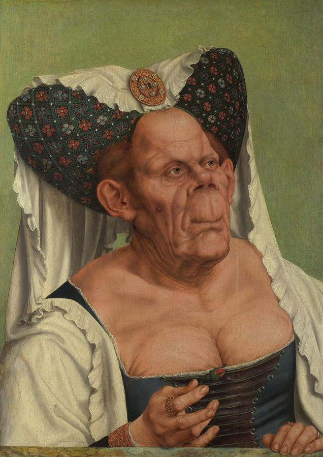 Quentin Matsys. The Ugly Dutchess (c. 1513). National Gallery, London.