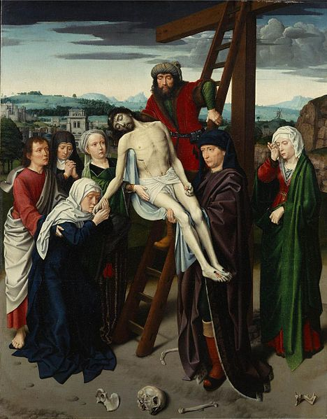 Geerhaert David. Deposition (1495-1500). The Frick Collection, New York.