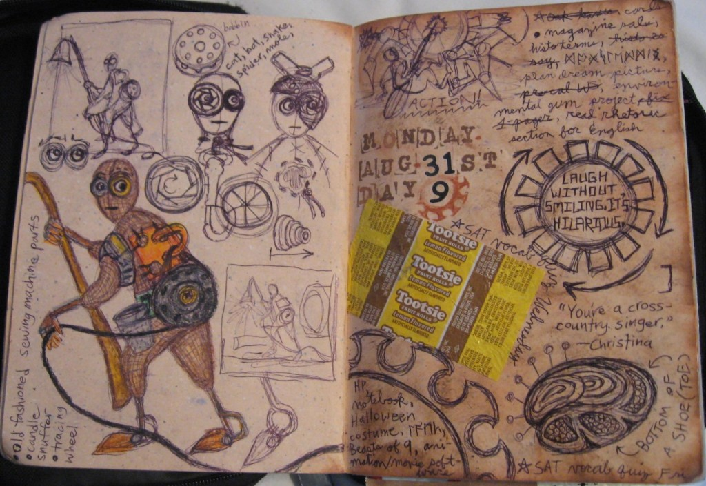 Commonplace Book page