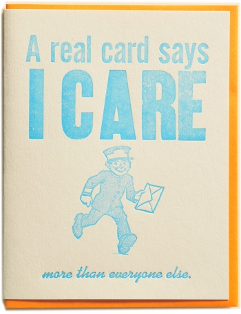 A real card care