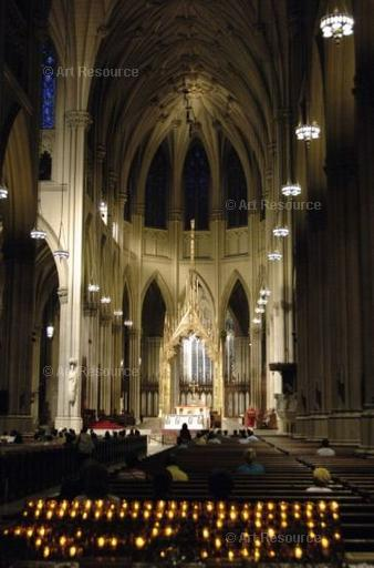 Celebration of Mass at St. Patrick's Cathedral, New York