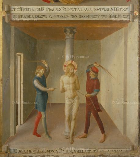 Fra Angelico. The Flogging of Christ (c. 1450). Museum of San Marco, Florence.