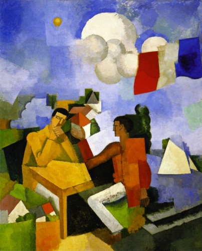 Roger de La Fresnaye. The Conquest of the Air (1913). Museum of Modern Art, New York.