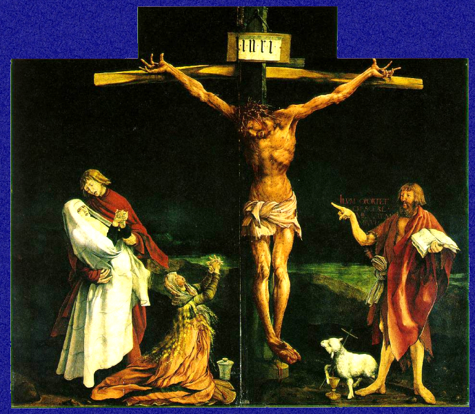 Matthias Grunewald. The Crucifixion (1515)