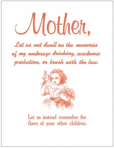 Mother's Day - Let us not dwell