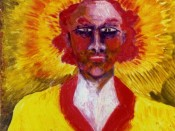 Aleister Crowley. Self Portrait as The Sun (1920).