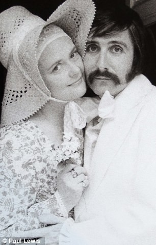 Roy Strong and wife Julia in the 1970s. Photo by Paul Lewis