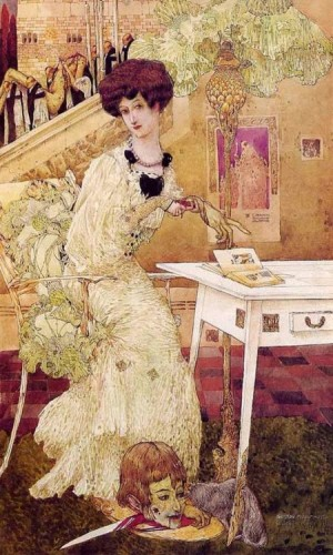 Adolph Gustav Mossa. Salomé (early 20th C.)