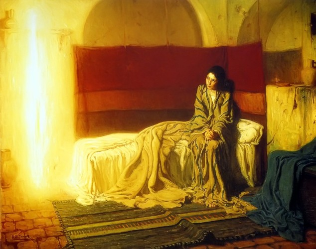 Henry Ossawa Tanner. The Annunciation (1898). Philadelphia Museum of Art.