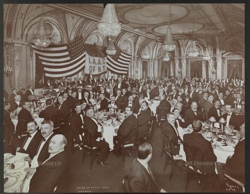 Banquet of the Ancient Order of Hibernians, Hotel Astor. Museum of the City of New York, NYC.