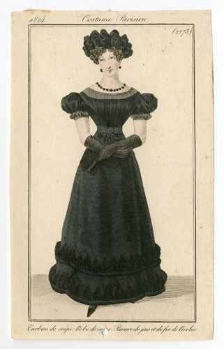Fashion Plate (1824). Metropolitan Museum of Art, Costume Reference Library.