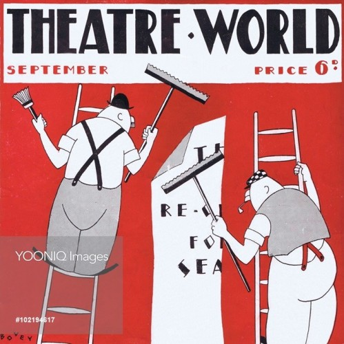 Illustration for Theatre World (September 1927) by Bovey.