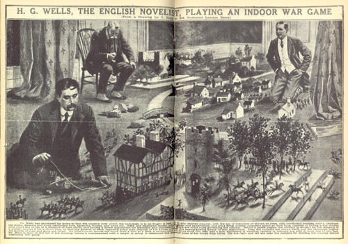 H.G. Wells indoor game