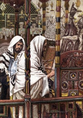 James Tissot. Jesus Teaching in the Synagogue (c. 1897). Ann Ronan Picture Library, London.