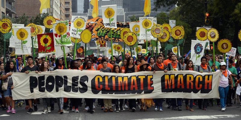 People's Climate March, NYC, September 21, 2014. An estimated 311,000 people participated.