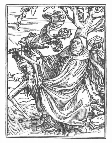 Hans Holbein the Younger. Danse Macabre (16th C).