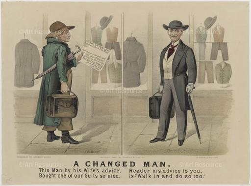 Currier & Ives. A Changed Man (1880). Museum of the City of New York.