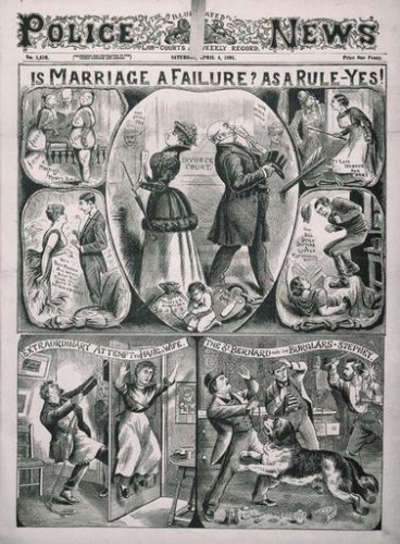 Anonymous. Illustrated Police News (19th C.). British Library Board.
