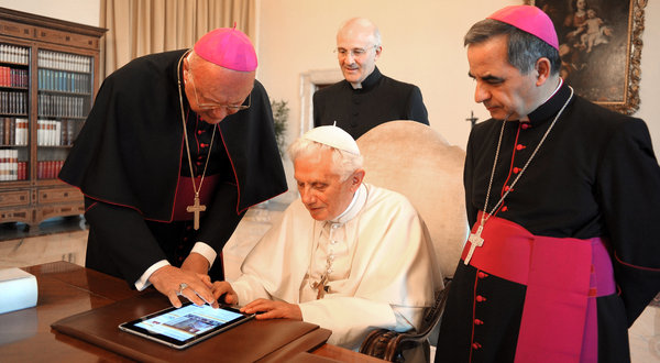 Pope Benedict and Twitter