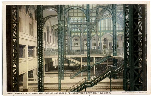 Penn Station postcard