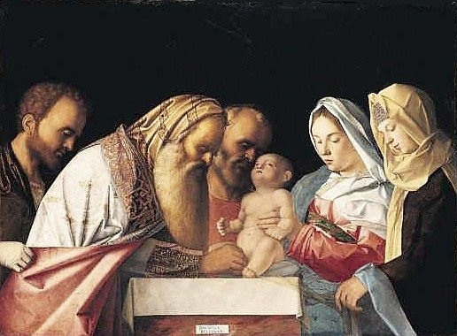 circumcision of the infant Jesus.