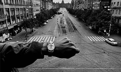 Josef Koudelka's famous photo, 1968.