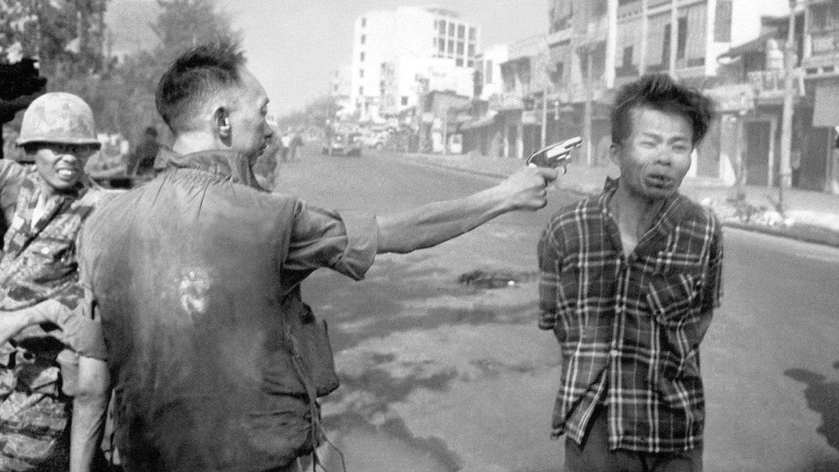 Photographs mislead. Eddie Adam's famous photograph of Saigon execution.