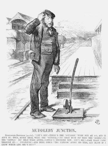 A confused signalman