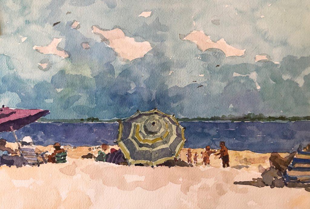 Derek Buckner watercolor