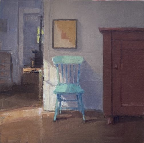 Painting, An Impromptu Respite