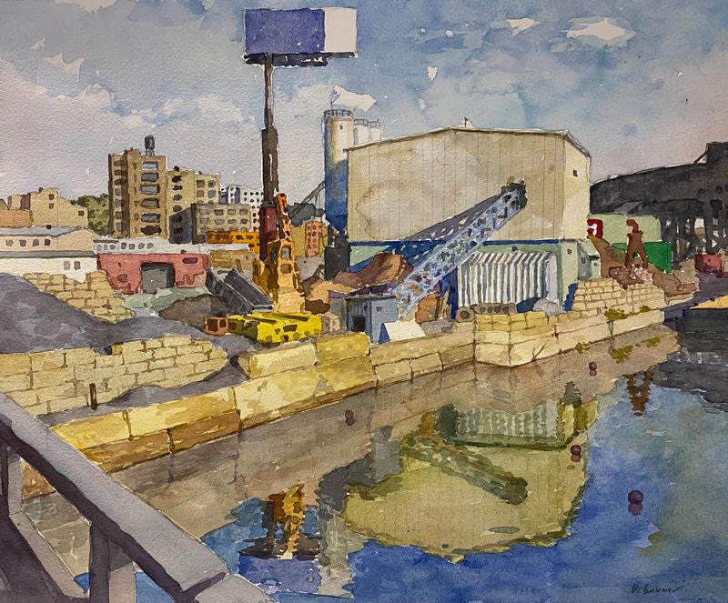 Derek Buckner painting
