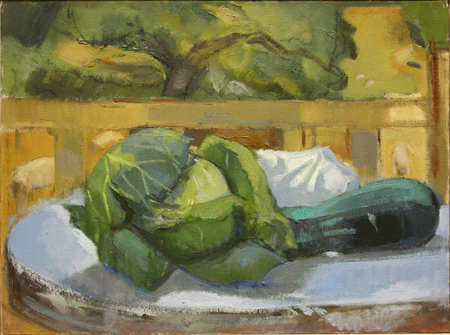 Ruth Miller painting.