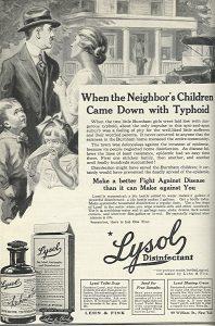 vintage Lysol ad
